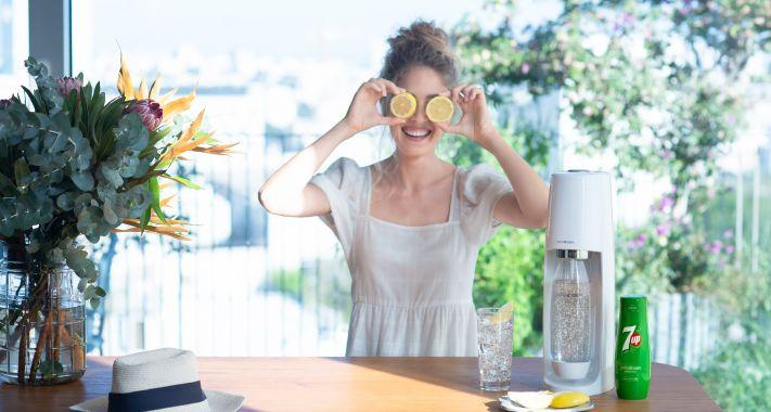 A SodaStream bemutatja az otthoni felhasználásra való PepsiCo szörpcsaládot