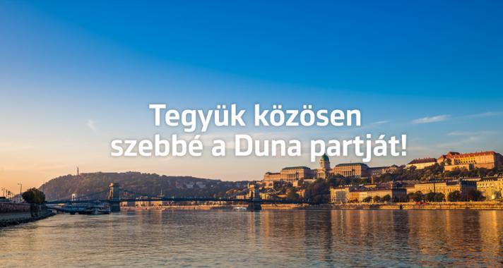Összefogás egy tisztább Duna-partért